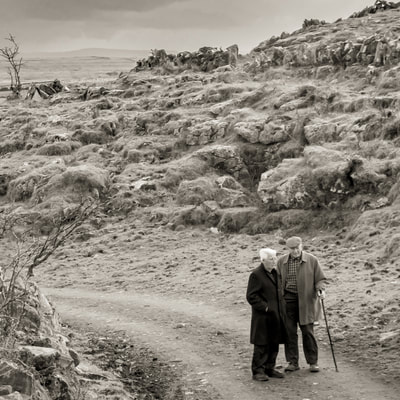 David Lee Black travels to County Clare, Ireland to take fine art photography of the land and its people.