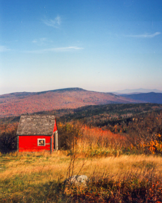 Noted Boston fine art photographer David Lee Black photographs beautiful landscapes along the Long Trail, Green Mountains, Vermont.
