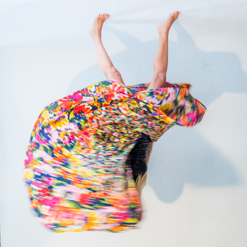 Noted Boston fine art photographer David Lee Black photographs abstract body/fashion model with a colorful flair.