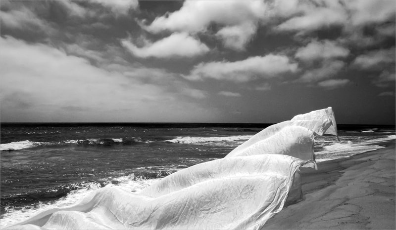 Noted Boston photographer David Lee Black and his award winning seascape black and white photographs on Nantucket, Massachusetts.